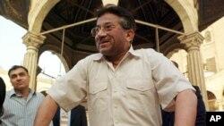 Cựu Tổng thống Pakistan Pervez Musharraf.