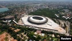 Một trong những sân vận động của World Cup 2014 tại Brazil (ảnh tư liệu).