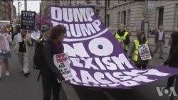 Protest zbog Trampove posete u Londonu