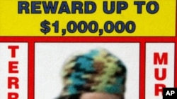 Undated poster released by Philippine National Police and the US Rewards For Justice Program, shows Umar Patek