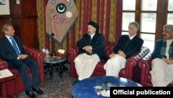 افغان وزیر کی پاکستانی عہدیداروں سے ملاقات