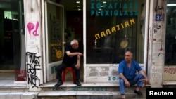 雅典市內商店蕭條