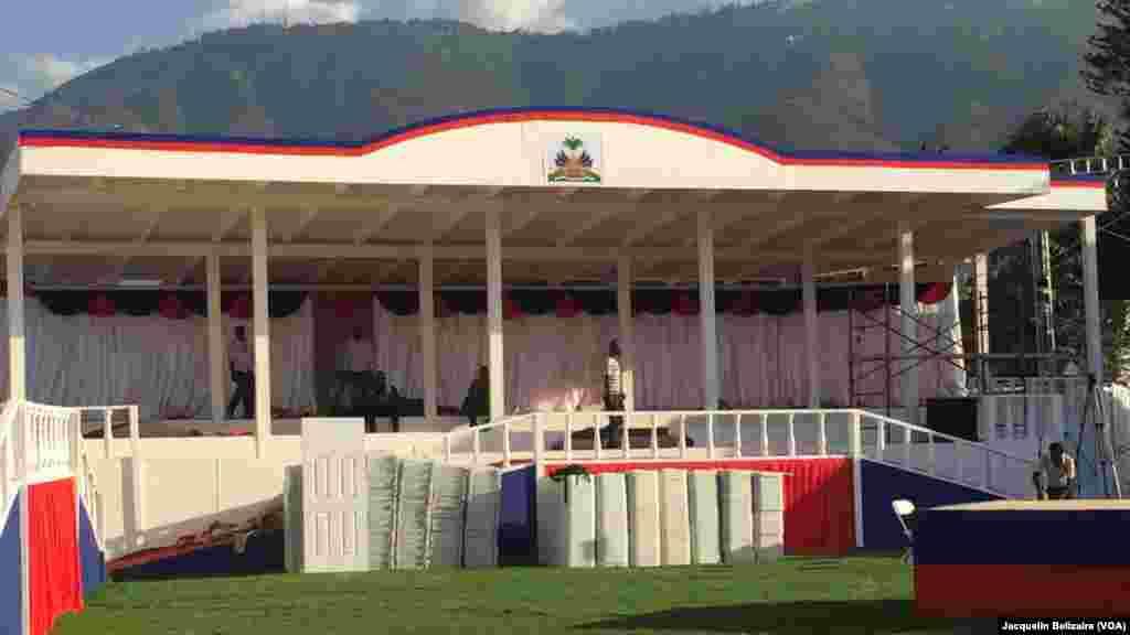 Ningún aspecto ha sido dejado de lado en los preparativos para la toma de mando del presidente electo de Haití, Jovenel Moïste.