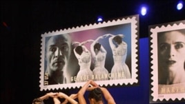 In May 2004 the U.S. Postal Service released new stamps honoring Martha Graham, George Balanchine and two other American choreographers, Agnes de Mille and Alvin Ailey