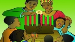 미국 속 흑인 축제 '콴자'