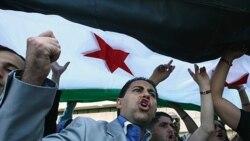 مخالفان دولت سوریه در آنتالیا، ترکیه - ۲ ژوئن ۲۰۱۱