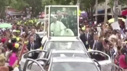 Pope Francis Colombia