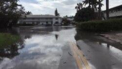 气候变化致海平面上升 迈阿密可能被淹