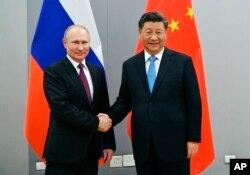 Vladimir Putin i Xi Jinping