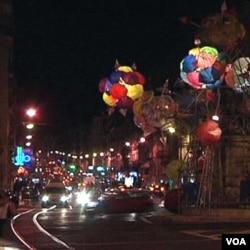 Umjetničke praznične dekoracije u Lisabonu