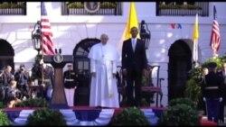 Prezident Obama Roma Papasını Ağ Evdə qəbul edib
