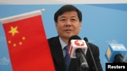 FILE - China's Vice Finance Minister Zhu Guangyao