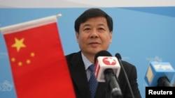 中国财政部副部长朱光耀在G20峰会期间的一次通报会上讲话(2013年9月5日)