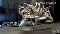 科学家研制奔跑如猎豹的机器人