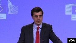 Portparol Evropske komisije Amadeu Altafaž Tardio
