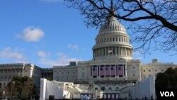 El Capitolio en Washington será sede de la investidura de Donald Trump como cuadragésimo quinto presidente de Estados Unidos, el viernes, 20 de enero, de 2016.