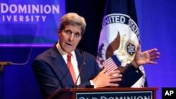 El secretario de Estado habla sobre el impacto del cambio climático en la política exterior estadounidense.