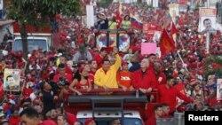 Hugo Chávez no ha dejado en ningún momento de atemorizar a la población con lo que sucedería si llega a perder las elecciones.