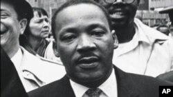Baptistički svećenik i vođa Pokreta za građanska prava američkih crnaca, dr. Martin Luther King