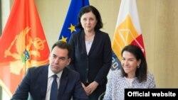 Potpisivanje sporazuma Crne Gore i EUROJUST-a (rtcg.me)