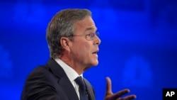 Jeb Bush sigue perdiendo popularidad pese a sus esfuerzos para atraer electores.