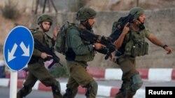 Израильские военные на Западном берегу Иордана (архивное фото)