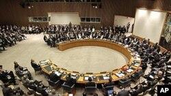 聯合國安理會召開會議。
