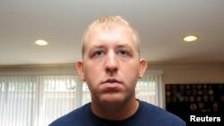 美国密苏里州的白人警察威尔逊