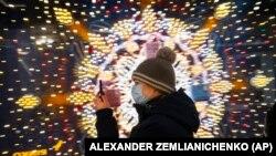 Москва, ГУМ, декабрь 2020