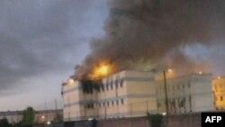 Požar u zatvoru San Miguel u Santjagu, Čile, 8. decembar 2010.