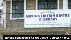 Pusat pelatihan catur di Nairobi, Kenya. (Foto: Courtesy/Mavens Education & Chess Centre)