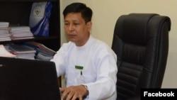 Zaw Htay, juru bicara pemimpin de fakto Myanmar Aung San Suu Kyi (foto: dok).