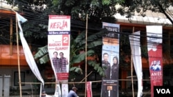 印尼雅加达特区首长选举将于2月15日举行。(美国之音朱诺拍摄,2017年2月1日)