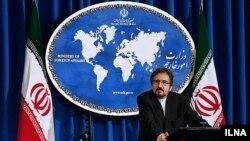 바흐람 가세미 이란 외교부 대변인 (자료사진)