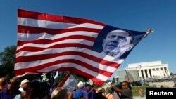 Proslava godišnjice Marša na Vašington kraj Linkolnovog memorijala, 24. avgust, 2013.