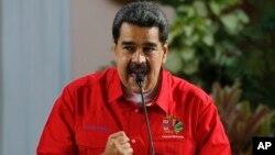 El presidente en disputa Nicolás Maduro dijo el domingo 28 de julio de 2019 que exlíderes de las FARC como Seuxis Paucias Hernández, más conocido como Jesús Santrich, y Luciano Marín Arango, alias Iván Márquez, son bienvenidos en la nación sudamericana.