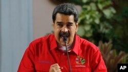 وینزویلا کے صدر نکولس مدورو۔ (فائل فوٹو)
