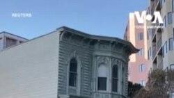 Як у Сан-Франциско перевозили на нову адресу цілий будинок. Відео