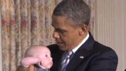 美国父亲节前夕 奥巴马强调家庭教育