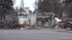 走进美国:加州大火将天堂烧成废墟