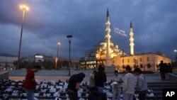 Une vue d'Istanbul en Turquie