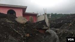 La Coordinadora para la reducción de desastres (CONRED), de Guatemala, contabiliza 201 fallecidos, 229 personas desaparecidas, 186 viviendas destruidas y 1.7 millones de afectados por erupción del volcán de Fuego. [Foto: Eugenia Sagastume]