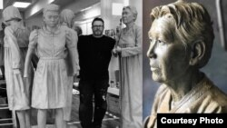 旧金山慰安妇雕塑家怀特