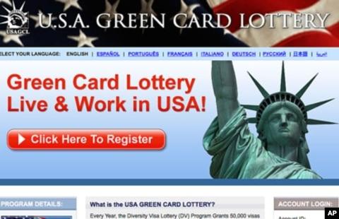 us green card lottery program