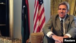在利比亞班加西領事館遭到襲擊殉職的美國大使史蒂文斯(資料圖片)