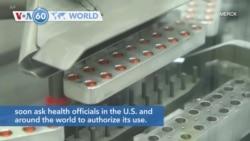VOA60 Addunyaa - Merck Says Experimental Pill Cuts Worst Effects of COVID-19
