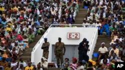 Le stade national de Cotonou, Bénin, 20 novembre 2011.