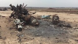 Watch Footage of Menagh Airbase, Syria