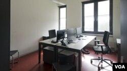 德國聯邦調查機構的一個辦公室。