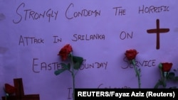 Memorijal poginulima postavljen u Pešavaru u Pakistanu